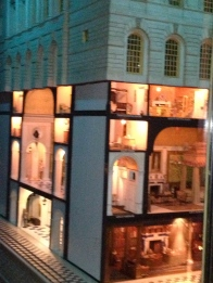An illegal picture of Queen Mary's Royall dollhouse.
