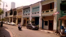 Buildings in George Town, Penang.